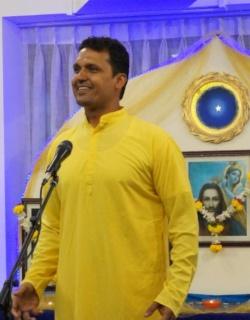 Aditya Giving Satsang