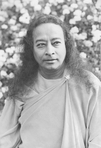 Paramhansa Yogananda Gazing to the Side