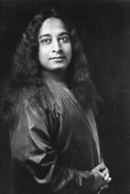 Paramhansa Yogananda Standing