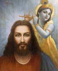 Image result for jesus krishna yogananda