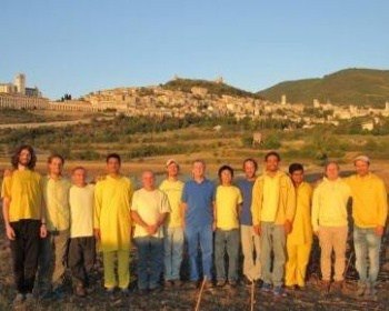 Group of Monks in Assisi