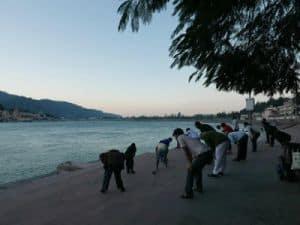 Group Practicing Energization Exercises