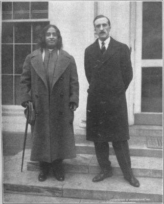 Paramhansa Yogananda at the White House