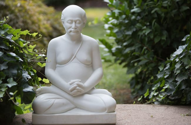 Murti Lahiri Mahasaya in Nature
