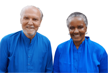 Nayaswami Jaya and Nayaswami Dhyana
