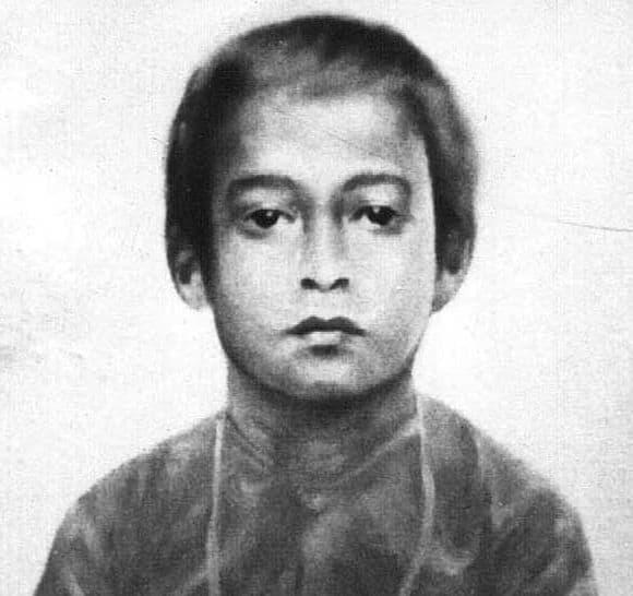 Young Mukunda (Yogananda)