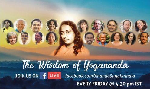 Join the Wisdom of Yogananda Webinar