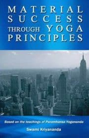 Book Cover Material Success Through Yoga Principles
