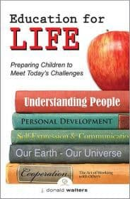 Book Cover Education for Life
