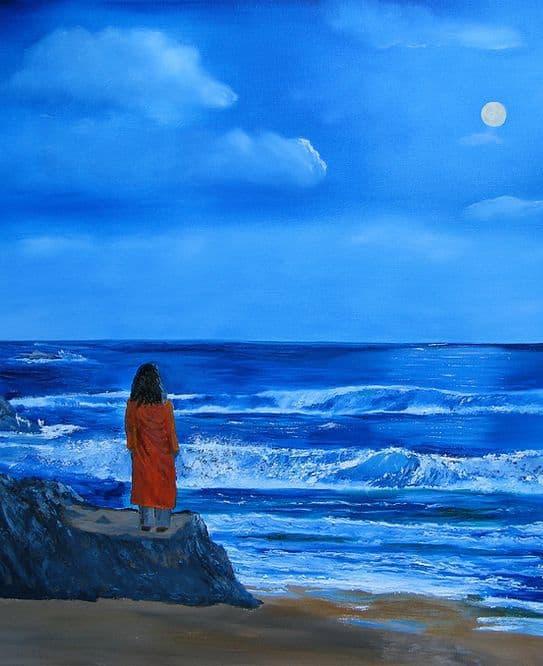 Painting Paramhansa Yogananda