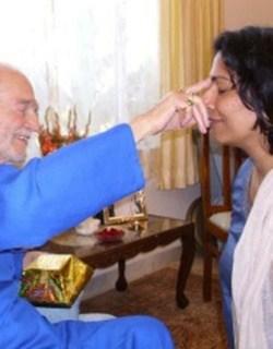 Swami Blessing Latha