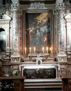 Tomb og Saint Doctor Moscati