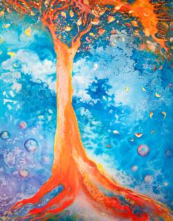 Painting by Dana Lynne Andersen