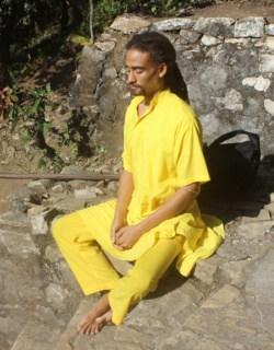 Jemal Meditating