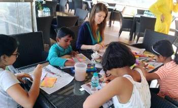 Art Activity with Children