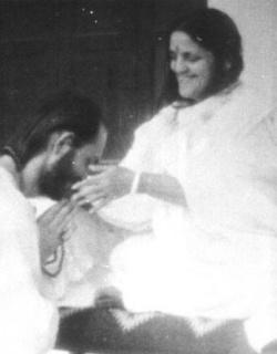 Ananda Moyima with Kriyananda