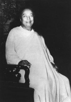 Yogananda on Chair